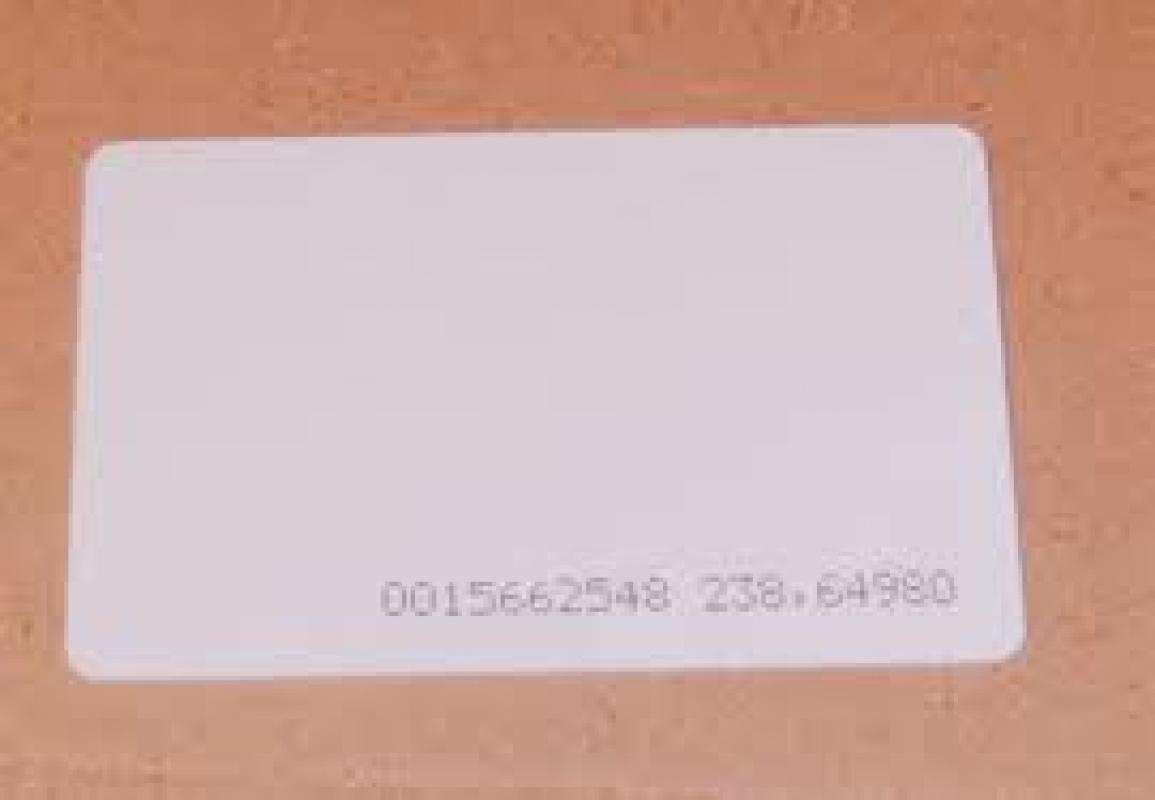 Bezkontaktna Karta 125 Khz Tk4100 Byala Yanak Shop