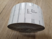 Бижутерски етикети V364126 10010065, 3510 бр. за ролка......