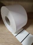 70*38 бял термодиректен картон 1500 етикета BM......