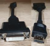 Преходник DVI - HDMI с кабел