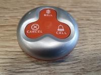 Троен бутон за повикване Y-A3-SR Сребърно с червени бутони............