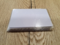 10 бр. Бяла безконтактна карта - 13.56 MHz MIFARE 1K......