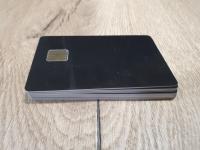 10 бр. Чип карта - черна SLE4428