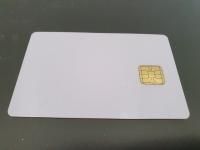 10 бр. Чип карта - бяла SLE4428