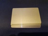 10 бл. Златна карта бланка