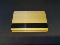 10 бр. Златна магнитна карта LoCo