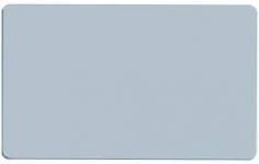 Сребърна карта бланка - Empty blank card in silver
