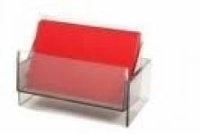 Червена карта бланка - Empty blank card in red
