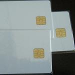 Чип карта - бяла SLE4428