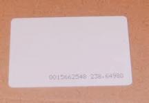 Безконтактна карта 125 kHZ - TK4100 бяла