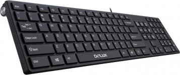 Черна клавиатура K1000