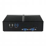 Мини компютър Q330P, I3-4030U,  4GB RAM, 128SSD, 5COM, HDMI, VGA, 6USB, ...